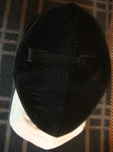 My new fencing mask